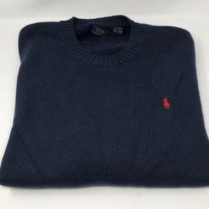 Dark Navy blue Men's Polo Ralph Lauren sweater XXL